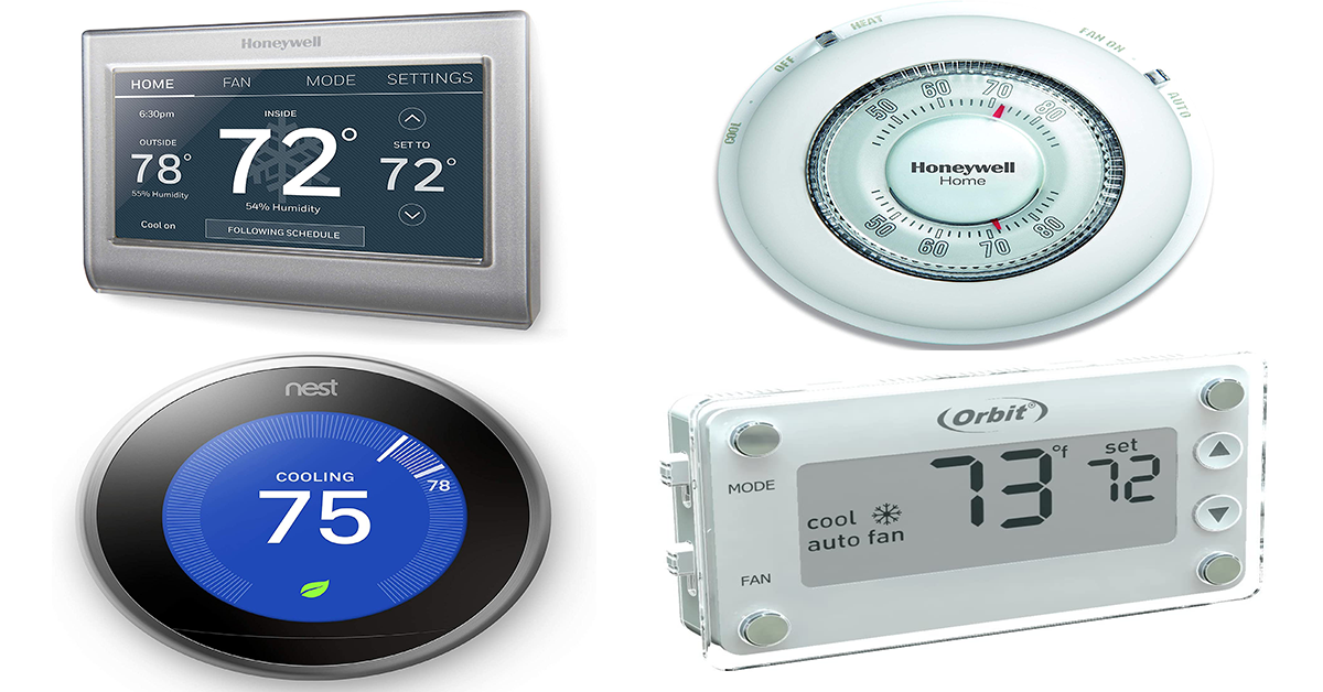 Different Types Of Easy-to-read Thermostats And How To Install Them