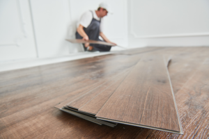 When it comes to aging-in-place kitchen flooring, vinyl is a great choice.