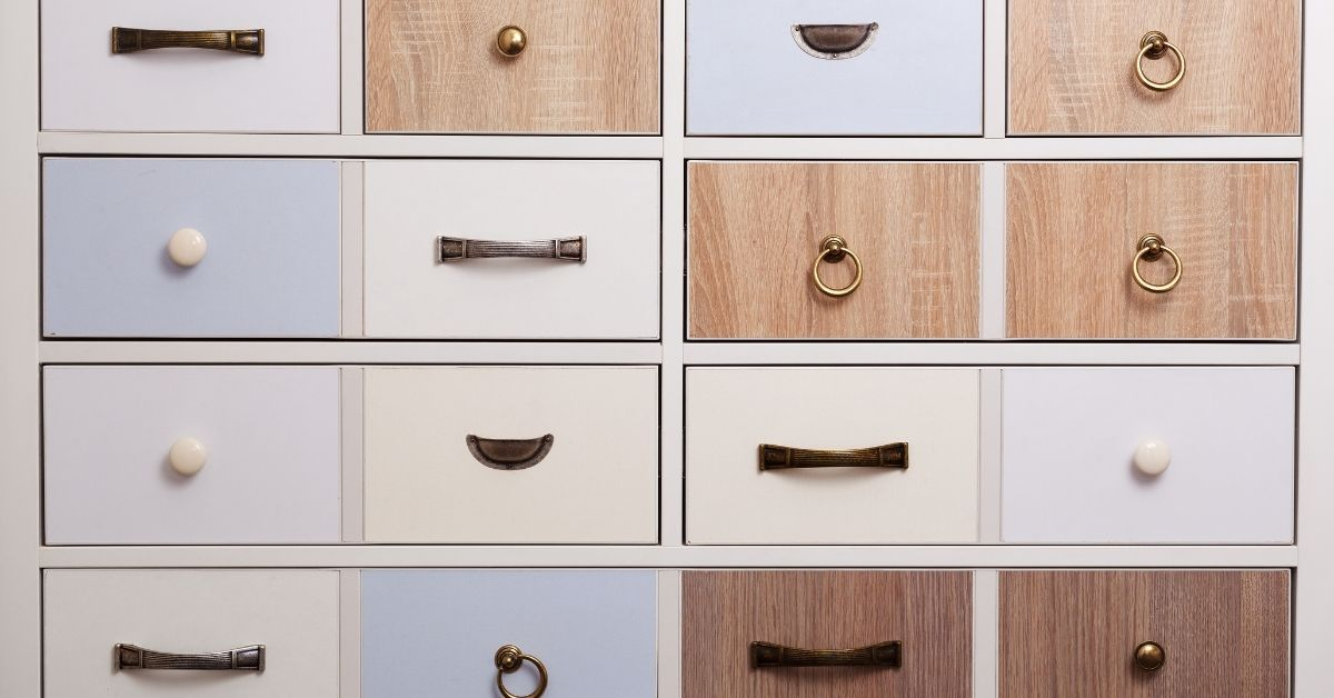 drawer opening hardware