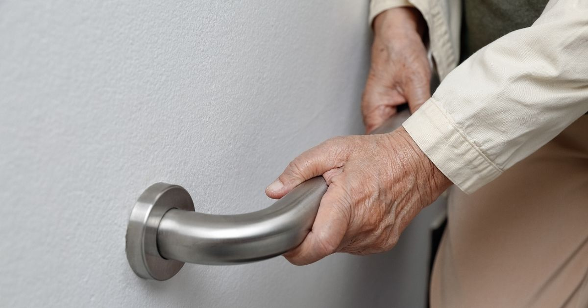 grab bars in the aging-in-place home